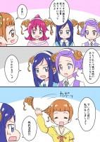ドキドキ!プリキュア漫画 ありす誕生日2015