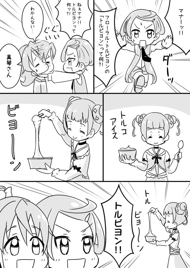 ドキドキ!プリキュア漫画 トルビヨン